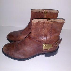 ef6a9fa2e30 Ecco distressed ankle boots